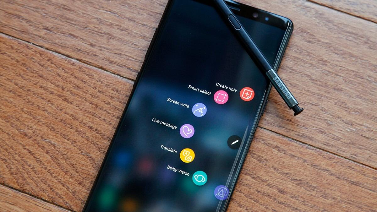 Galaxy Note 8 apps